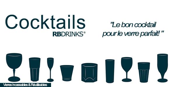 Les Cocktails RBDRINKS®