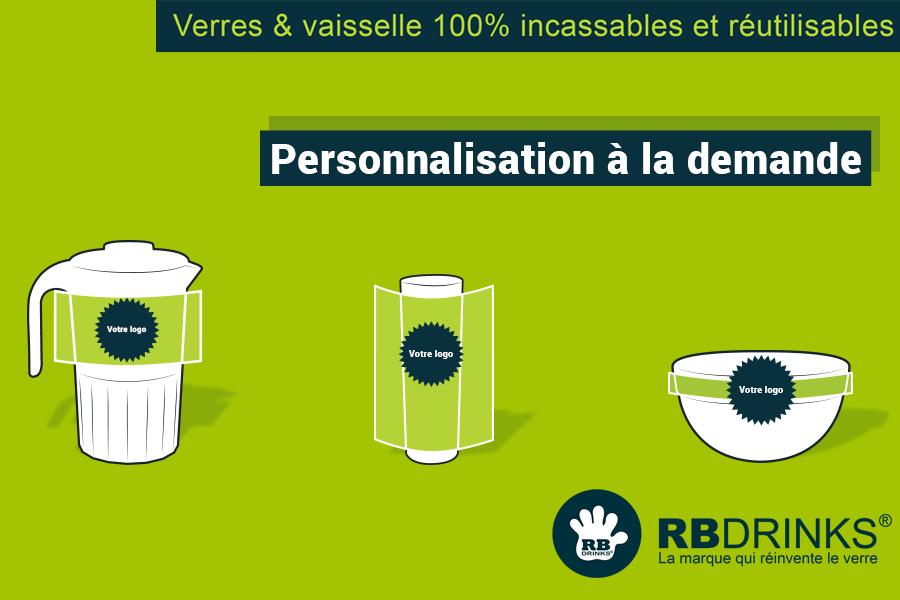 Personnalisation à la Demande RBDRINKS®