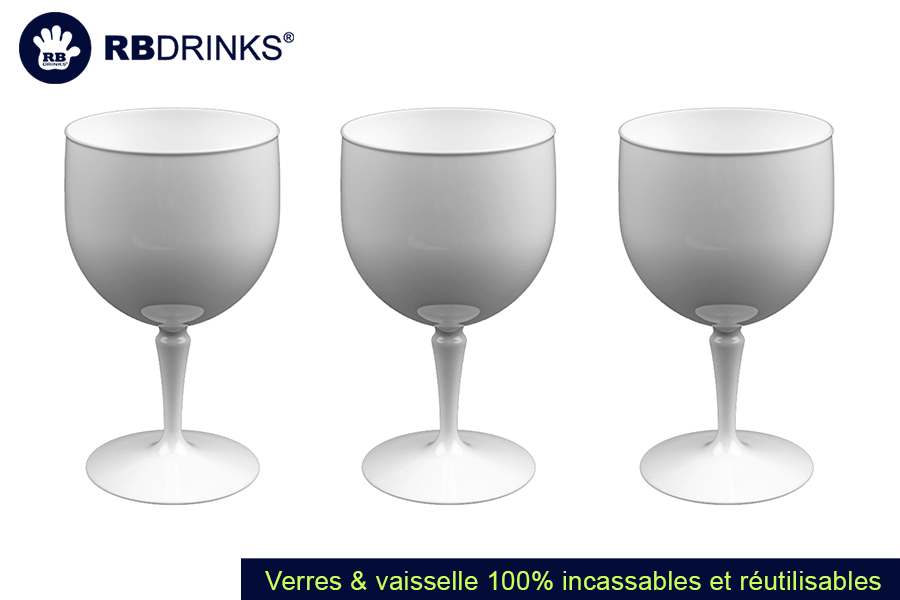 Verre Piscine Blanc | RBDRINKS®