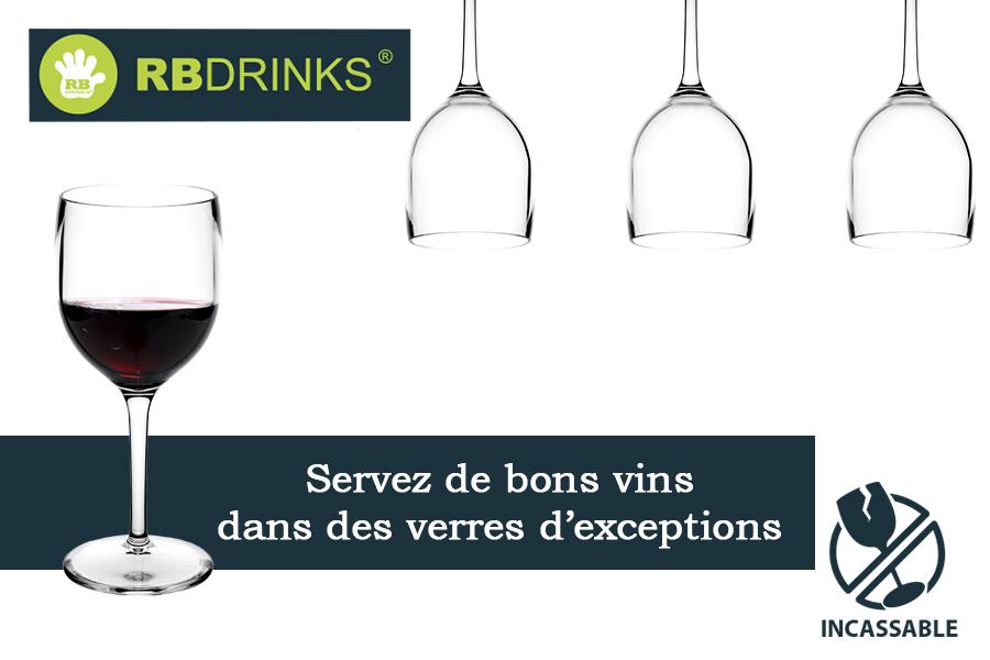 Servez de bons vins dans des verres d'exceptions !