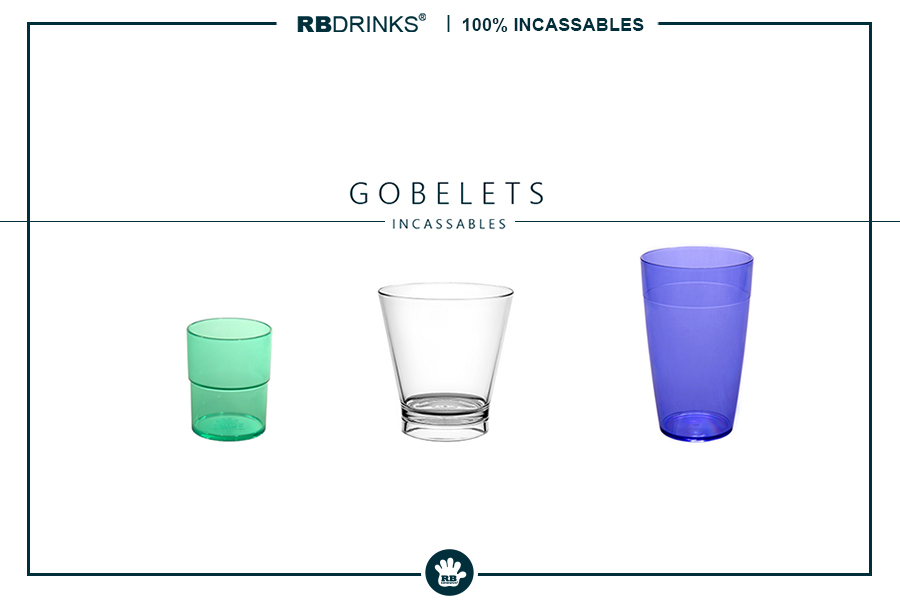 Gobelets incassables | RBDRINKS®