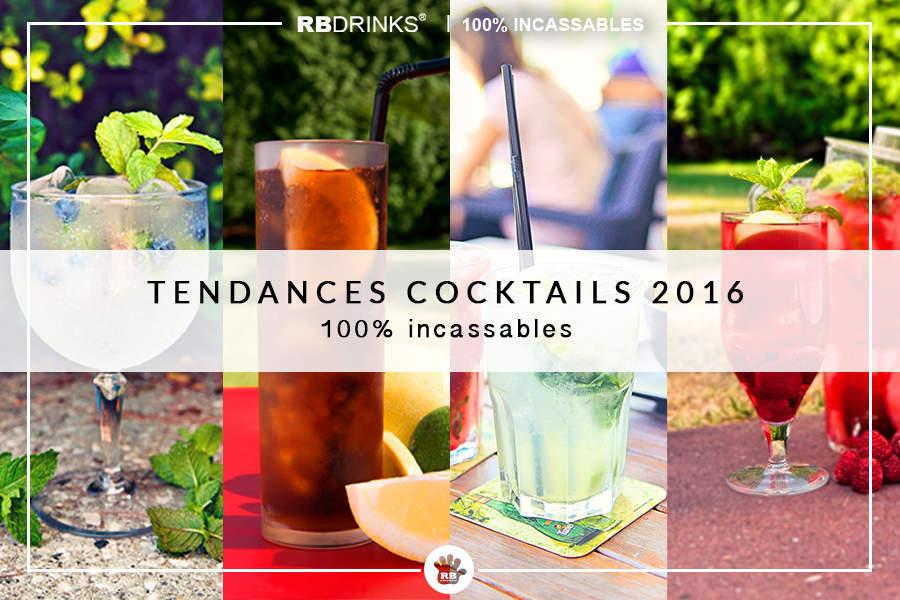 Tendances Cocktails de l'été 2016