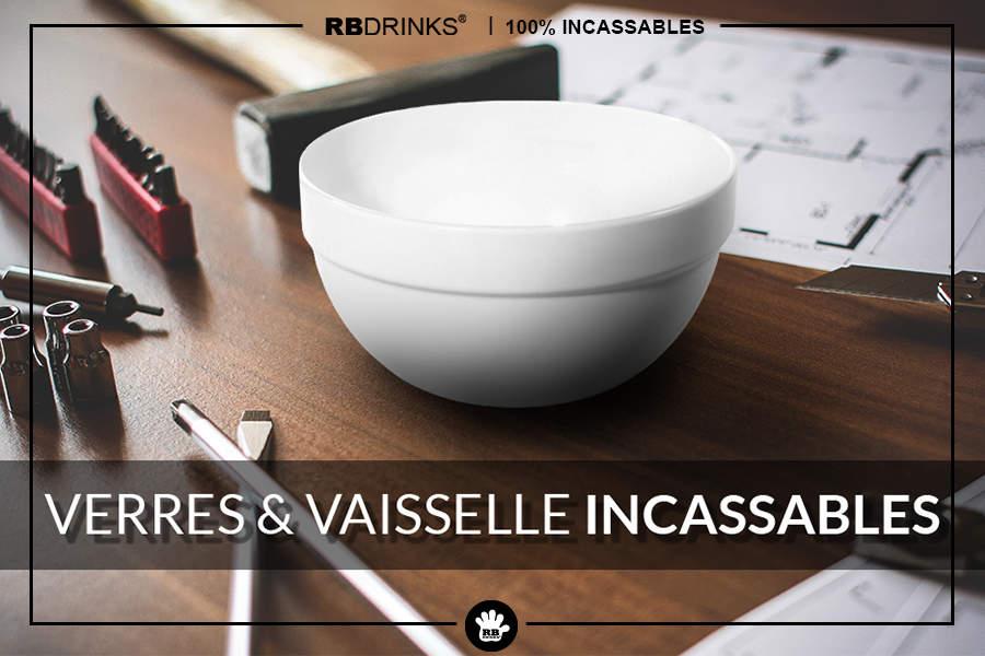 RBDRINKS®, Verres & Vaisselle incassables