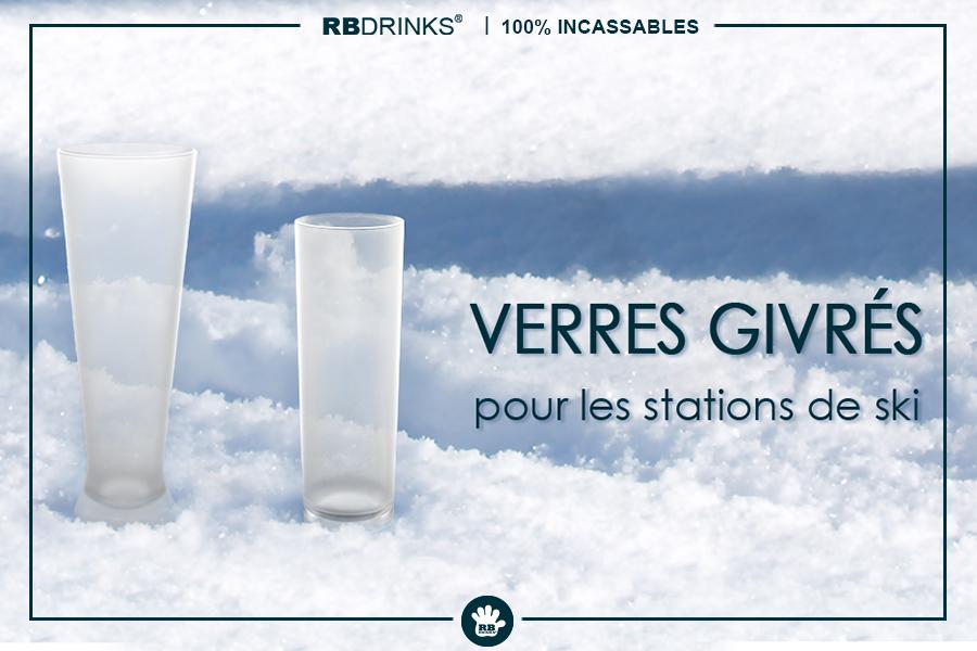 Des verres givrés pour les stations de ski!