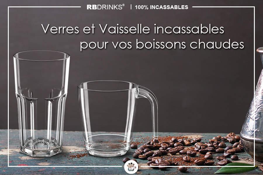 verres et vaisselle incassables pour boissons chaudes rbdrinks. Black Bedroom Furniture Sets. Home Design Ideas