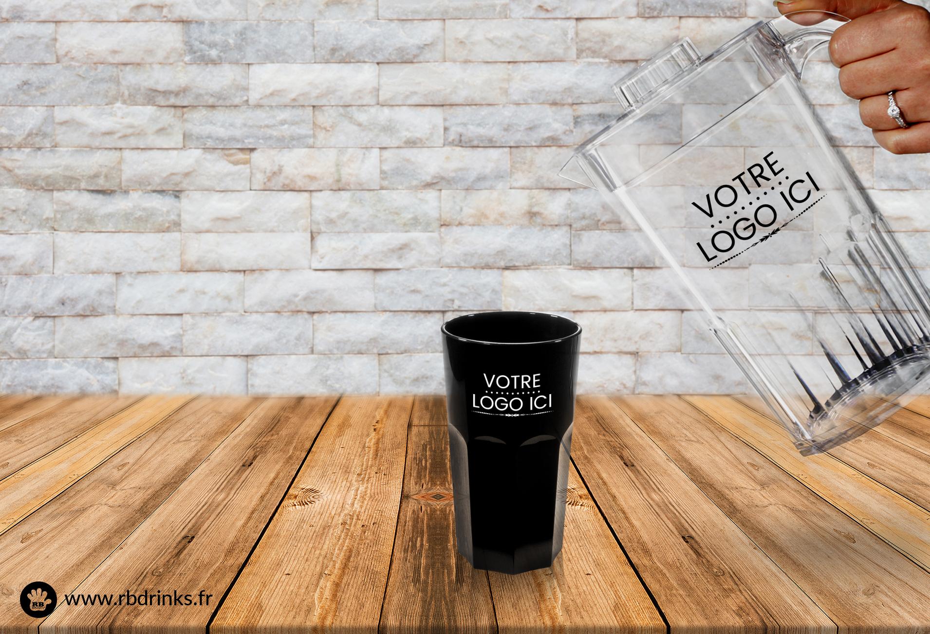 Personnalisation à la demande RBDRINKS | Vaisselle incassable